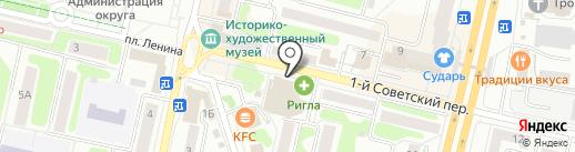 Алга на карте Щёлково