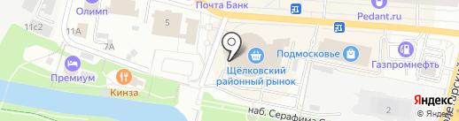 Конфетный рай на карте Щёлково