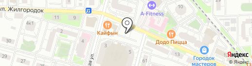 Отдел службы судебных приставов на карте Железнодорожного
