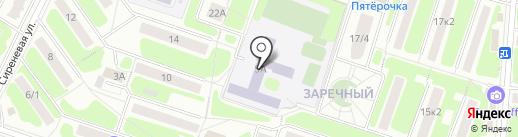 Средняя общеобразовательная школа №3 на карте Щёлково