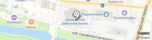 Ледис на карте Щёлково