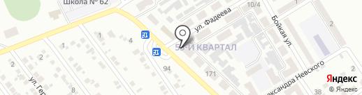 Отделение связи №24 на карте Макеевки