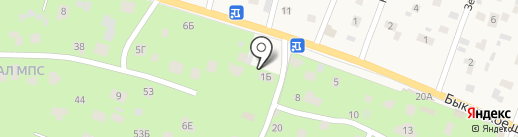 Вис на карте Малаховки