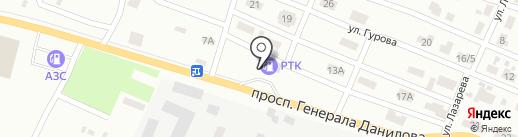 АЗС ОККО-Нафтопродукт на карте Макеевки