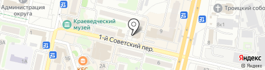 ДИНА на карте Щёлково