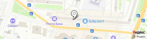 Coral Travel на карте Щёлково