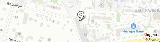 Верный на карте Балашихи