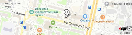 Бух оптим на карте Щёлково