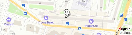 Живика на карте Щёлково