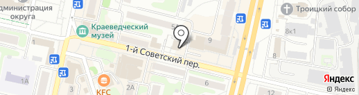 Янина на карте Щёлково
