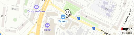 Borodach на карте Щёлково