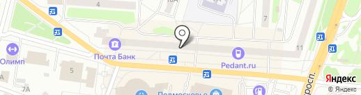 МОНРО на карте Щёлково