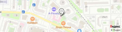 Детская поликлиника на карте Железнодорожного