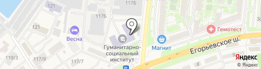 БНК-Карго на карте Красково
