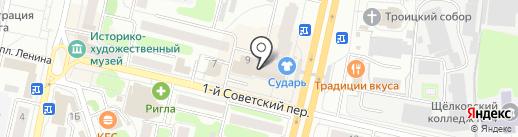 Кухни-Мособл на карте Щёлково