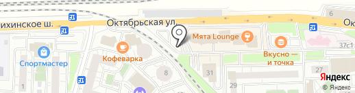 Автостоянка №2 на карте Железнодорожного