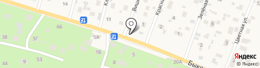 Автосервис на карте Малаховки