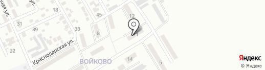 Глобус на карте Макеевки