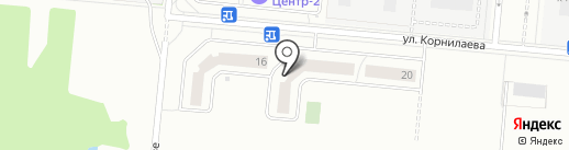 Центр-2 на карте Балашихи