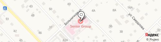 Сениор Групп на карте Малаховки
