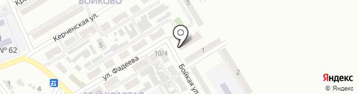 Каприз на карте Макеевки