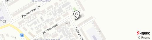 Диана, салон-парикмахерская, СПД Рябокон Д.Н. на карте Макеевки