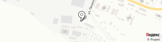 Строительный дом на карте Макеевки
