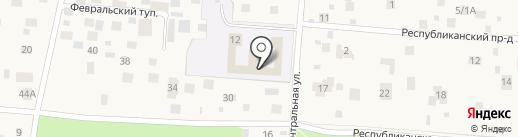 Специальная (коррекционная) общеобразовательная школа-интернат на карте Малаховки