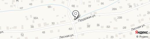 Продуктовый магазин на карте Малаховки