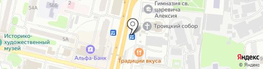 Гриль хаус на карте Щёлково