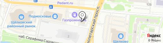 МакАвто на карте Щёлково