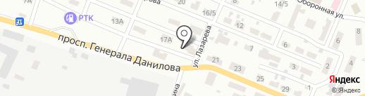 Клуб органического земледелия на карте Макеевки