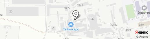 Темниково на карте Балашихи
