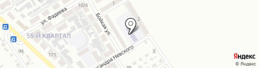 Детский сад №141 на карте Макеевки