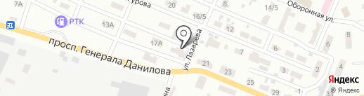 Хозяюшка, магазин на карте Макеевки