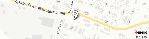 Донецкстандартметрология, ГП на карте Макеевки