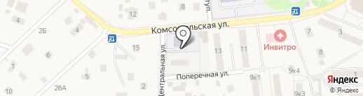 Детский сад №64 на карте Малаховки