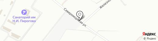 Южный Оконный Союз на карте Геленджика
