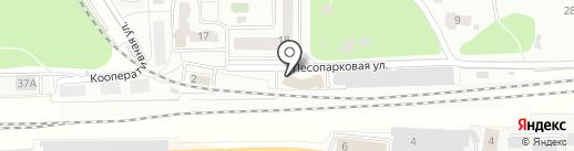 Лидер-С на карте Балашихи