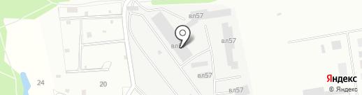 МосМусоровоз на карте Балашихи