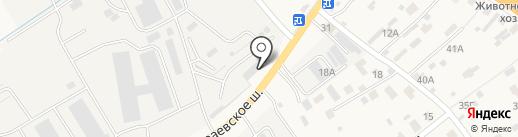 Магазин тротуарной плитки на Новой на карте Островцев
