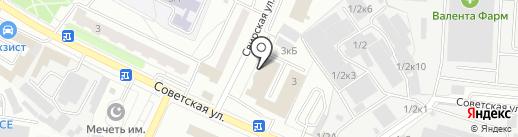 СТ Сервис на карте Щёлково