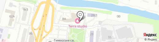 Департамент на карте Щёлково