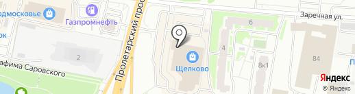Вияна на карте Щёлково