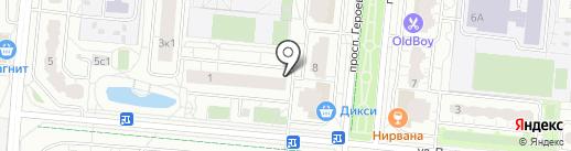 Автобан на карте Балашихи