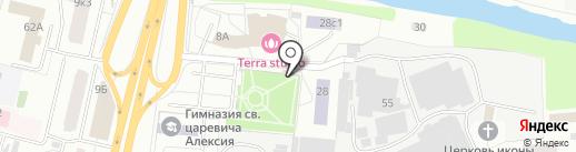 Хлеб на карте Щёлково