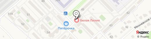 Карамелька на карте Малаховки