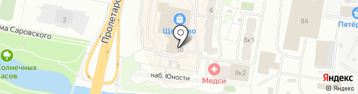 Окна Кэмп на карте Щёлково
