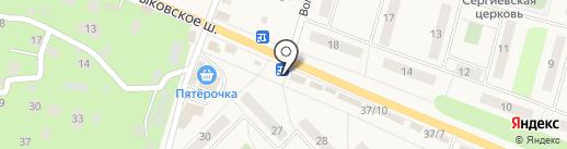 Магазин автотоваров на карте Малаховки