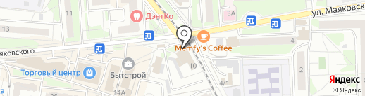 Элит мастер на карте Балашихи
